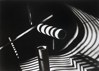 Nathan Lerner (American, 1913-1997). <em>Light Experiment: Wooden Dowels, Chicago 1939</em>, Printed 1983. Selenium-toned print, Sheet: 16 x 20 in. (40.6 x 50.8 cm). Brooklyn Museum, Gift of Kiyoko Lerner, 2011.25.74. © artist or artist's estate (Photo: Brooklyn Museum, 2011.25.74_PS4.jpg)
