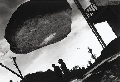 Nathan Lerner (American, 1913-1997). <em>Stone Cloud, Nagasaki 1976</em>, Printed 1983. Selenium-toned print, Sheet: 16 x 20 in. (40.6 x 50.8 cm). Brooklyn Museum, Gift of Kiyoko Lerner, 2011.25.80. © artist or artist's estate (Photo: Brooklyn Museum, 2011.25.80_PS4.jpg)