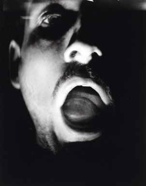 Nathan Lerner (American, 1913-1997). <em>Eye in Mouth</em>, 1937, printed later. Gelatin silver photograph, Sheet: 8 1/4 x 6 1/4 in. (21 x 15.9 cm). Brooklyn Museum, Gift of Kiyoko Lerner, 2011.25.8. © artist or artist's estate (Photo: Brooklyn Museum, 2011.25.8_PS4.jpg)