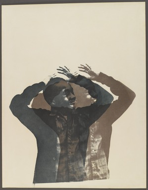 Cleveland Bellow (American, 1946-2009). <em>Untitled</em>, 1968. Screenprint on paper, sheet: 19 1/2 x 15 1/4 in. (49.5 x 38.7 cm). Brooklyn Museum, Gift of R.M. Atwater, Anna Wolfrom Dove, Alice Fiebiger, Joseph Fiebiger, Belle Campbell Harriss, and Emma L. Hyde, by exchange, Designated Purchase Fund, Mary Smith Dorward Fund, Dick S. Ramsay Fund, and  Carll H. de Silver Fund, 2012.80.6. © artist or artist's estate (Photo: Brooklyn Museum, 2012.80.6_PS4.jpg)