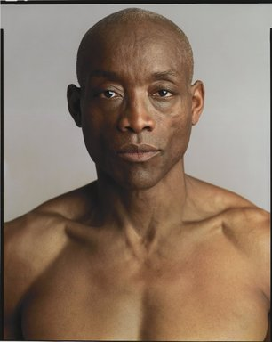 Timothy Greenfield-Sanders (American, born 1952). <em>Bill T. Jones</em>, 2007. Inkjet print, 58 x 44 in. (147.3 x 111.8 cm). Brooklyn Museum, Gift of Michael Sloane, 2013.54.1. © artist or artist's estate (Photo: Brooklyn Museum, 2013.54.1_PS6.jpg)