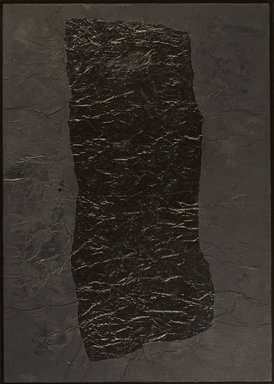 Yang Jiechang (Chinese, born 1956). <em>100 Layers of Ink</em>, 1994. Ink and acrylic on paper laid down on canvas, 37 1/8 × 26 5/16 × 3/4 in. (94.3 × 66.8 × 1.9 cm). Brooklyn Museum, Gift of David Solo, 2014.35.2. © artist or artist's estate (Photo: Brooklyn Museum, 2014.35.2_PS9.jpg)