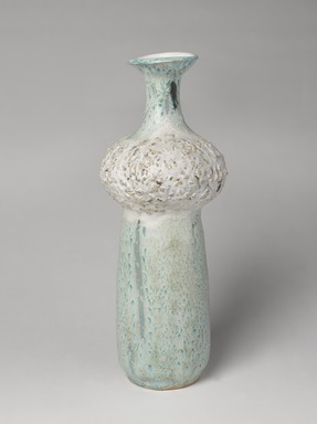 Hui Ka Kwong (American, born in China, 1922-2003). <em>Vase</em>, ca. 1960. Glazed earthenware, height: 15 3/4 in. (40 cm). Brooklyn Museum, Gift of the Einsidler family, 2014.44.1. Creative Commons-BY (Photo: , 2014.44.1_PS9.jpg)