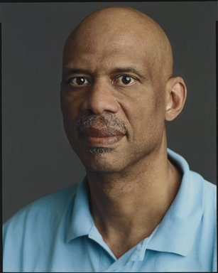 Timothy Greenfield-Sanders (American, born 1952). <em>Kareem Abdul-Jabbar</em>, 2007. Ink-jet print, 58 x 44 in. (147.3 x 111.8 cm). Brooklyn Museum, Gift of Michael Sloane, 2014.53.1. © artist or artist's estate (Photo: Brooklyn Museum, 2014.53.1_PS6.jpg)