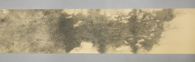 Bingyi (Chinese, born 1975). <em>Cloud Atlas</em>, 2014. Ink on paper treated with resistance, 13 3/8 x 236 1/4 in. (34 x 600 cm). Brooklyn Museum, Gift of Mrs. Robert G. Olmstead and Constable McCracken, by exchange, 2015.69. © artist or artist's estate (Photo: , 2015.69_section_B_view01_PS11.jpg)