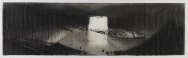 Shen Qin (Chinese). <em>Village</em>, 2014. Ink on paper Brooklyn Museum, Gift of Shen Qin in honor of Liu Dan, 2015.71. © artist or artist's estate (Photo: , 2015.71_PS9.jpg)