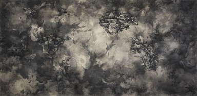 Tai Xiangzhou (Chinese, born 1968). <em>Celestial Chaos No. 3</em>, 2014. Ink on silk, mounted flat, image: 38 3/4 × 77 3/16 in. (98.4 × 196.1 cm). Brooklyn Museum, Gift of Kathleen Yang in memory of Denis C. Yang, 2018.26. © artist or artist's estate (Photo: , 2018.26_PS9.jpg)