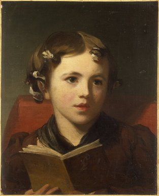 Thomas Sully (American, born England, 1783-1872). <em>Portrait of a Young Girl</em>, 1824. Oil on canvas, 16 3/4 x 13 11/16 in. (42.5 x 34.8 cm). Brooklyn Museum, Bequest of Samuel E. Haslett, 21.57 (Photo: Brooklyn Museum, 21.57_SL3.jpg)