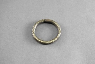 <em>Small Engraved Bracelet</em>. Iron Brooklyn Museum, Museum Expedition 1922, Robert B. Woodward Memorial Fund, 22.1544. Creative Commons-BY (Photo: Brooklyn Museum, 22.1544_PS5.jpg)