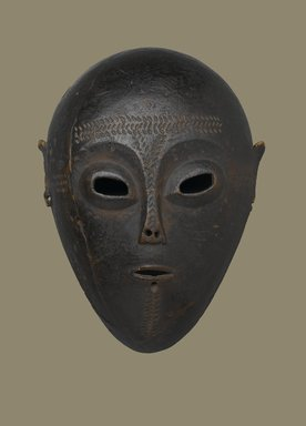 Ngbaka. <em>Mask</em>, 19th century. Wood, 13 x 9 7/8 x 5 3/4 in.  (33 x 25.1 x 14.6 cm). Brooklyn Museum, Museum Expedition 1922, Robert B. Woodward Memorial Fund, 22.1585. Creative Commons-BY (Photo: Brooklyn Museum, 22.1585_PS2.jpg)