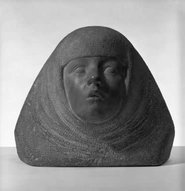 Robert Eloi (French, 1881-1949). <em>Chrysalide</em>, 1919. Red stone, 10 1/2 x 32 in. (26.7 x 81.3 cm). Brooklyn Museum, Gift of Otto H. Kahn through the Committee for the Diffusion of French Art, 22.1937. Creative Commons-BY (Photo: Brooklyn Museum, 22.1937_bw.jpg)