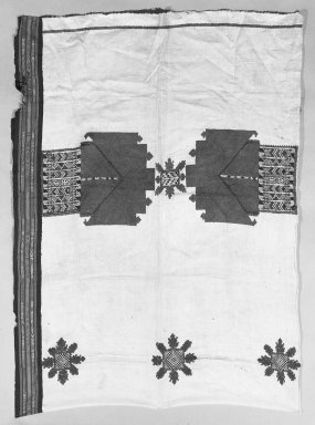 <em>Table Runner</em>. Silk Brooklyn Museum, Museum Expedition 1922, Robert B. Woodward Memorial Fund, 22.1955.14. Creative Commons-BY (Photo: Brooklyn Museum, 22.1955.14_bw.jpg)