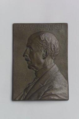 Portrait Plaque of Daniel Chester French