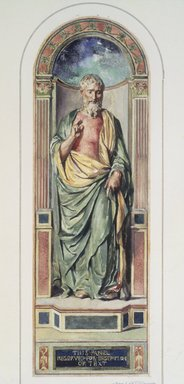 John La Farge (American, 1835-1910). <em>St. Paul Preaching</em>. Watercolor Brooklyn Museum, Gift of John Hill Morgan, 22.53 (Photo: Brooklyn Museum, 22.53.jpg)