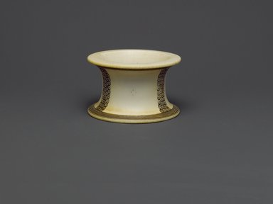 Possibly Fur. <em>Bracelet</em>, late 19th or early 20th century. Ivory, 2 1/4 x 3 1/2 x 3 1/2 in. (5.7 x 8.9 x 8.9 cm). Brooklyn Museum, Museum Expedition 1922, Robert B. Woodward Memorial Fund, 22.677. Creative Commons-BY (Photo: Brooklyn Museum, 22.677_PS6.jpg)