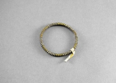 <em>Bracelet</em>. Iron, bronze Brooklyn Museum, Museum Expedition 1922, Robert B. Woodward Memorial Fund, 22.727. Creative Commons-BY (Photo: Brooklyn Museum, 22.727_PS5.jpg)