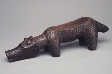Kuba. <em>Diviner's Instrument (Itoom)</em>, 19th century. Wood, 2 15/16 x 10 1/2 x 2 1/2 in. (7.5 x 26.6 x 6.4 cm). Brooklyn Museum, Museum Expedition 1922, Robert B. Woodward Memorial Fund, 22.812. Creative Commons-BY (Photo: Brooklyn Museum, 22.812.jpg)