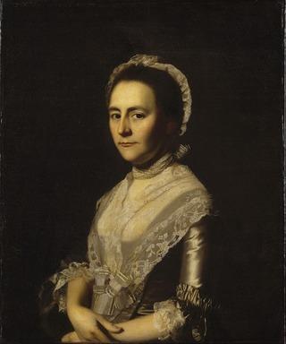 John Singleton Copley (American, 1738-1815). <em>Mrs. Alexander Cumming, née Elizabeth Goldthwaite, later Mrs. John Bacon</em>, 1770. Oil on canvas, 29 13/16 x 24 11/16 in. (75.7 x 62.7 cm). Brooklyn Museum, Gift of Walter H. Crittenden, 22.84 (Photo: Brooklyn Museum, 22.84_SL1.jpg)