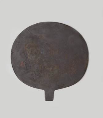 <em>Mirror Disk</em>, ca. 1938-1700 B.C.E. Copper, 4 3/16 x 4 1/8 in. (10.6 x 10.5 cm). Brooklyn Museum, Gift of the Egypt Exploration Society, 26.815. Creative Commons-BY (Photo: Brooklyn Museum, 26.815_side1_PS2.jpg)