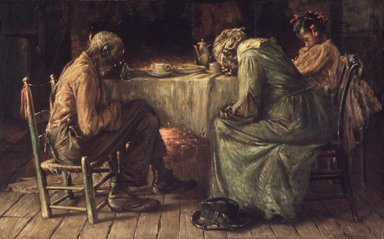 Harry Roseland (American, 1866/67?-1950). <em>The Blessing</em>, 1905. Oil on canvas, 30 x 48in. (76.2 x 121.9cm). Brooklyn Museum, Gift of Mrs. Charles D. Ruwe, 27.377 (Photo: Brooklyn Museum, 27.377_transp931.jpg)