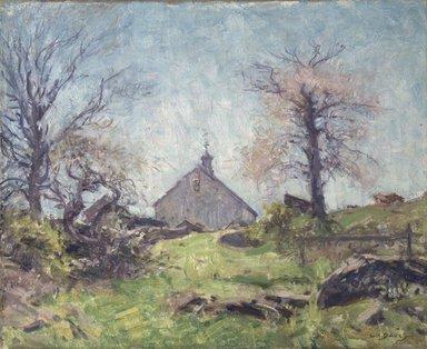 Charles  Harold Davis (American, 1856-1933). <em>In Spring Sunshine</em>, ca. 1920. Oil on canvas, 13 x 16 in. (33 x 40.7 cm). Brooklyn Museum, Gift of Alfred W. Jenkins, 29.1084 (Photo: Brooklyn Museum, 29.1084_transp950.jpg)
