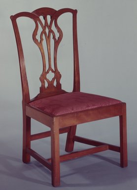 <em>Side Chair</em>. Mahogany Brooklyn Museum, Museum Collection Fund, 29.1320. Creative Commons-BY (Photo: Brooklyn Museum, 29.1320_SL4.jpg)