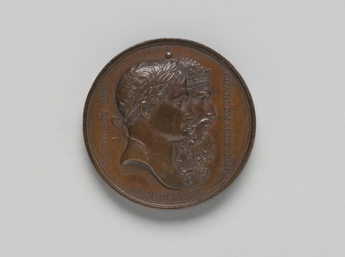 <em>Medal</em>. Brooklyn Museum, Bequest of Dr. Marion Reilly, 29.190.8. Creative Commons-BY (Photo: Brooklyn Museum, 29.190.8_front_PS11.jpg)
