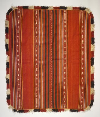 Aymara. <em>Poncho</em>, early 20th century. Wool, camelid fiber, 56 x 67 in. (142.2 x 170.2 cm). Brooklyn Museum, Alfred T. White Fund, 30.1165.11. Creative Commons-BY (Photo: Brooklyn Museum, 30.1165.11.jpg)