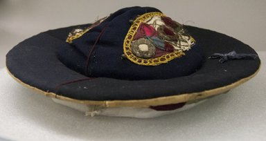 <em>Hat</em>. Brooklyn Museum, Alfred T. White Fund, 30.1165.34a-b. Creative Commons-BY (Photo: Brooklyn Museum, 30.1165.34a_PS5.jpg)
