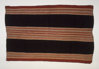 Aymara. <em>Shawl</em>, 19th century. Camelid fiber, 50 1/4 x 33in. (127.6 x 83.8cm). Brooklyn Museum, Alfred T. White Fund, 30.1165.9. Creative Commons-BY (Photo: Brooklyn Museum, 30.1165.9.jpg)