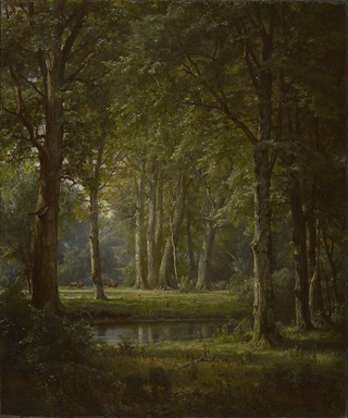 William Trost Richards (American, 1833-1905). <em>Early Summer</em>, 1888. Oil on canvas, 24 1/4 x 20 1/16in. (61.6 x 51cm). Brooklyn Museum, Bequest of Alice C. Crowell, 32.141 (Photo: , 32.141_PS9.jpg)