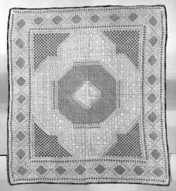 <em>Persian Embroidery</em>. Textile Brooklyn Museum, Gift of the executors of the Estate of Colonel Michael Friedsam, 32.561. Creative Commons-BY (Photo: Brooklyn Museum, 32.561_bw.jpg)