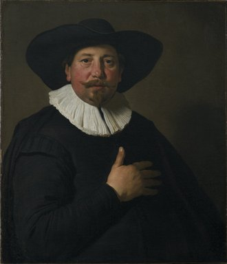 Jacob Adriaensz. Backer (Dutch, 1608/9-1651). <em>Portrait of a Man</em>, ca. 1637-1638. Oil on canvas, 29 3/4 x 25 5/8 in. (75.6 x 65.1 cm). Brooklyn Museum, Gift of the executors of the Estate of Colonel Michael Friedsam, 32.793 (Photo: Brooklyn Museum, 32.793_PS2.jpg)