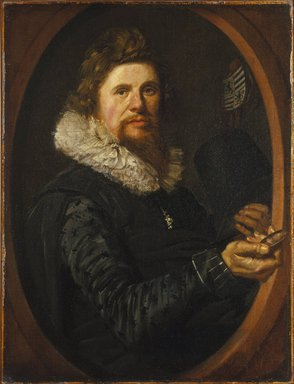 Frans Hals (Dutch, ca. 1580-1666). <em>Portrait of a Man</em>, ca. 1614-1615. Oil on canvas, 29 x 21 3/4 in. (73.7 x 55.2 cm). Brooklyn Museum, Gift of the executors of the Estate of Colonel Michael Friedsam, 32.821 (Photo: Brooklyn Museum, 32.821_SL1.jpg)
