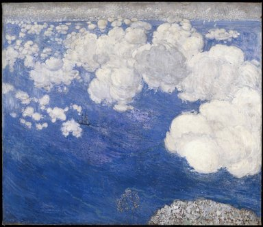 Boris Anisfeld (Russian, 1879-1973). <em>Clouds over the Black Sea--Crimea</em>, 1906. Oil on canvas, 49 1/2 x 56 in. (125.7 x 142.2 cm). Brooklyn Museum, Gift of Boris Anisfeld in memory of his wife, 33.416 (Photo: Brooklyn Museum, 33.416_SL3.jpg)