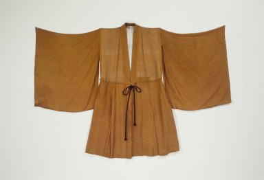 <em>Robe</em>, 19th-early 20th century. Silk, 45 1/16 x 66 9/16 in. (114.5 x 169 cm). Brooklyn Museum, Brooklyn Museum Collection, 34.1262. Creative Commons-BY (Photo: Brooklyn Museum, 34.1262.jpg)