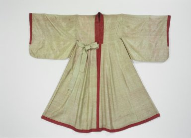 <em>Confucian Scholar's Robe (Simeui)</em>, 19th-early 20th century. Silk, 52 3/16 x 66 1/8 in. (132.5 x 168 cm). Brooklyn Museum, Brooklyn Museum Collection, 34.1283. Creative Commons-BY (Photo: Brooklyn Museum, 34.1283.jpg)