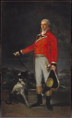 Francisco de Goya y Lucientes (Spanish, 1746-1828). <em>Portrait of Don Tadeo Bravo de Rivero</em>, 1806. Oil on canvas, 81 1/2 x 45 11/16in. (207 x 116cm). Brooklyn Museum, Gift of the executors of the Estate of Colonel Michael Friedsam, 34.490 (Photo: Brooklyn Museum, 34.490_SL1.jpg)
