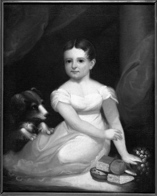 Ezra Ames (American, 1768-1836). <em>Portrait of Mary A. Cary</em>, ca. 1831. Oil on canvas, 30 5/16 x 23 3/4 in. (77 x 60.3 cm). Brooklyn Museum, Gift of Elizabeth Luther Cary, 35.1640 (Photo: Brooklyn Museum, 35.1640_framed_bw.jpg)