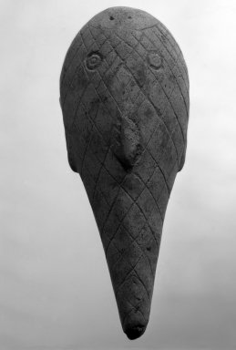<em>Figure of the Remora</em>. Stone Brooklyn Museum, Ella C. Woodward Memorial Fund, 35.1689. Creative Commons-BY (Photo: Brooklyn Museum, 35.1689_bw.jpg)