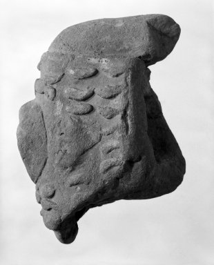 <em>Upper Part of Torso</em>. Clay Brooklyn Museum, Ella C. Woodward Memorial Fund, 35.1795. Creative Commons-BY (Photo: Brooklyn Museum, 35.1795_bw.jpg)