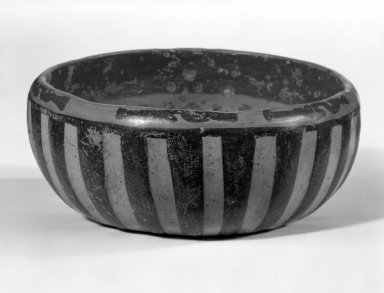Maya. <em>Small Bowl</em>. Decorated pottery Brooklyn Museum, A. Augustus Healy Fund, 35.1892. Creative Commons-BY (Photo: Brooklyn Museum, 35.1892_bw.jpg)