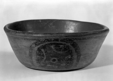Maya. <em>Small Bowl</em>. Decorated pottery Brooklyn Museum, A. Augustus Healy Fund, 35.1899. Creative Commons-BY (Photo: Brooklyn Museum, 35.1899_bw.jpg)