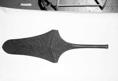 Fijian. <em>Club (Culacula)</em>. Hardwood, 51 1/8 x 17 1/8 in. (129.9 x 43.5 cm). Brooklyn Museum, Gift of Appleton Sturgis, 35.2175. Creative Commons-BY (Photo: Brooklyn Museum, 35.2175_bw.jpg)