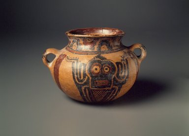 Maya. <em>Bowl</em>. Ceramic, pigment., 4 x 6 1/2 x 5 1/2 in. (10.2 x 16.5 x 14 cm). Brooklyn Museum, A. Augustus Healy Fund, 35.645. Creative Commons-BY (Photo: Brooklyn Museum, 35.645.jpg)
