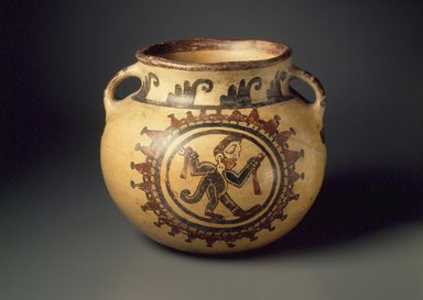 Maya. <em>Bowl</em>. Ceramic, pigment, 6 1/4 x 7 1/2 x 7 1/2 in. (15.9 x 19.1 x 19.1 cm). Brooklyn Museum, A. Augustus Healy Fund, 35.646. Creative Commons-BY (Photo: Brooklyn Museum, 35.646.jpg)