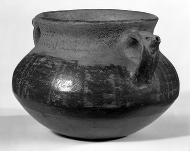 Maya. <em>Bowl</em>. Pottery Brooklyn Museum, A. Augustus Healy Fund, 35.653. Creative Commons-BY (Photo: Brooklyn Museum, 35.653_bw.jpg)