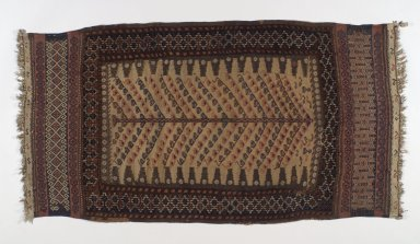 <em>Baluch Sofra</em>, late 19th century. Wool, Old Dims: 57 1/16 x 28 3/4 in. (145 x 73 cm). Brooklyn Museum, A. Augustus Healy Fund, 36.237. Creative Commons-BY (Photo: Brooklyn Museum, 36.237.jpg)