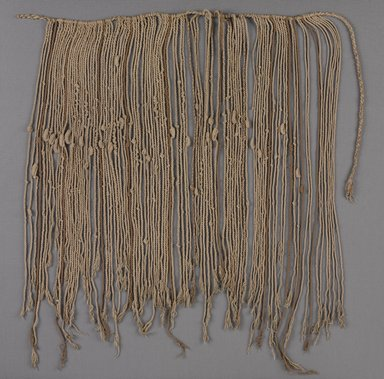 Inca. <em>Quipu</em>, 1400-1532. Cotton, 20 1/2 × 34 5/8 in. (52 × 88 cm). Brooklyn Museum, Gift of Mrs. Eugene Schaefer, 36.413. Creative Commons-BY (Photo: , 36.413_PS9.jpg)