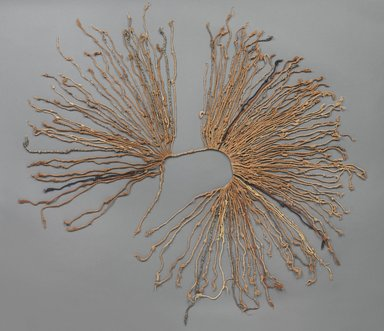 Inca. <em>Quipu</em>, 1400-1532. Cotton, camelid fiber, 13 × 37 in. (33 × 94 cm). Brooklyn Museum, Gift of Dr. John H. Finney, 36.718. Creative Commons-BY (Photo: , 36.718_PS9.jpg)
